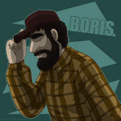 ''Uncle'' Boris by VickyViolet