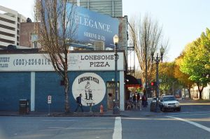 Downtown PDX: Elegantly Lonesome by neuroplasticcreative