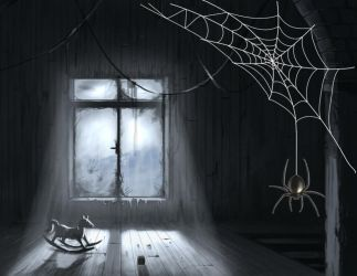 Spider Web (animated) for xwidget by Jimking