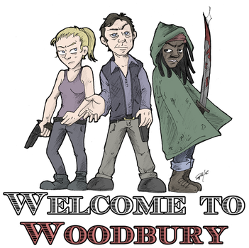 Welcome to Woodbury by GakiRules