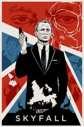 OO7 SKYFALL poster by rodolforever