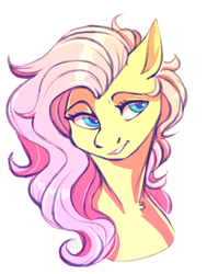 Cute Fluttershy by 1AN1