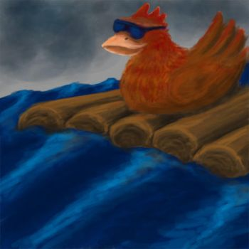 Chicken on a raft by Chromat