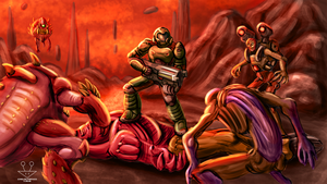 DOOM - Come Get Some by BurgerForLunsh