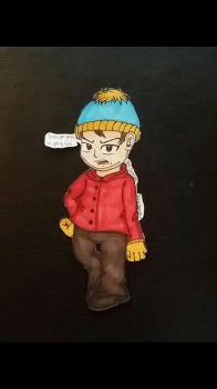 Drawing South Park - Eric Cartman by Riyana2