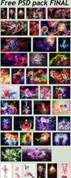 Free PSD pack FINAL by iShyion