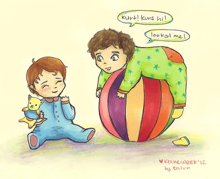 Baby!Klaine by supertay