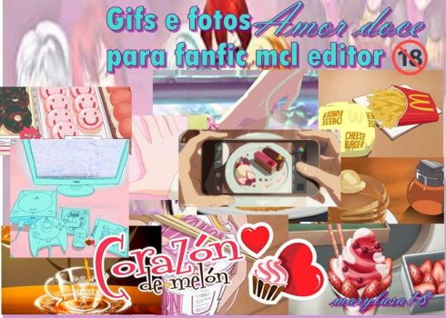 Gifs e imagens mcl editor amor doce by Marylusa18