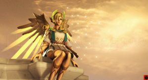 Winged Victory Mercy by TheLostRenegade