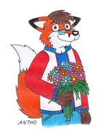 Flowers for you. by AnthoFur