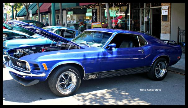 Mach 1 Blues by StallionDesigns