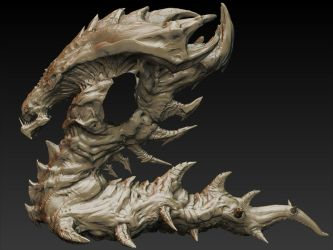 Hydralisk WIP Update 004 by MKounelakis
