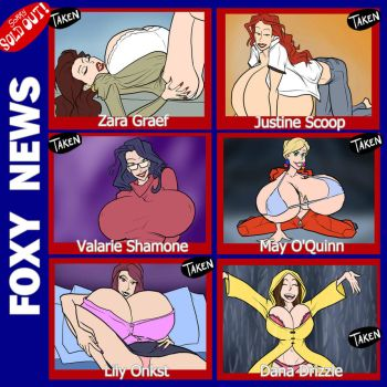 Foxy News - SOLD OUT by JonFreeman