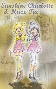 Sunny and Haze Casual Style Design by CandySkitty