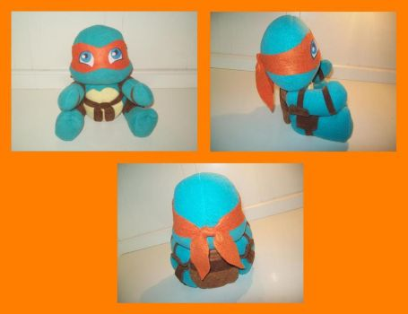 New Mikey plush by animelover2day