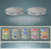 Cylinder .PSD by demeters