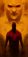 Daredevil - World on fire(repaint) by LeftHandOfDoom