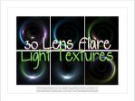 30 Lens Flare Light Textures by tunichtgut