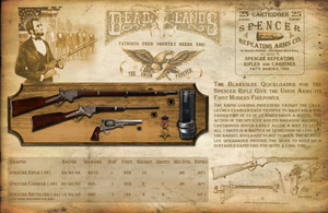 Deadlands Reloaded - Spencer Repeating Arms by Sadizzm
