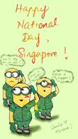 National Day for Minions. by pspndslover