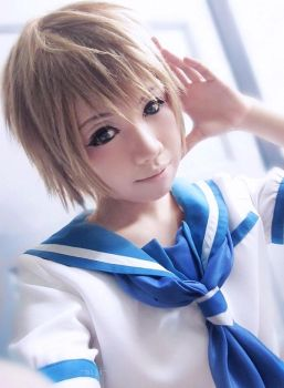 Nagi no Asukara : Kaname private -1 by basilicum84