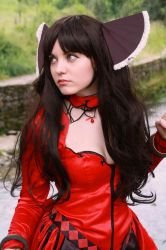 Tohsaka Rin cosplay from Fate Grand Order Cosplay by Ychigo