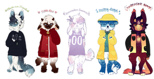 Anthro Sweater Adopts SALE {OPEN - ONE LEFT!} by Hevirago