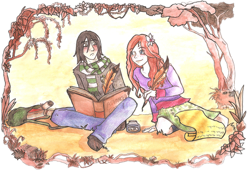 Snape and Lily by Thrumugnyr