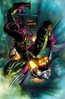 Thunderbolts 120: Green Goblin by Summerset