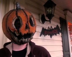 Pumpkinhead mask by Crystumes