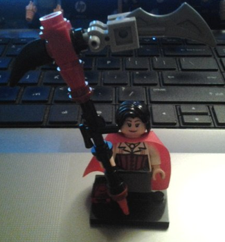 Lego Ruby Rose V2 by AJ-Prime