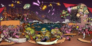 TMNT Final Battle by Fpeniche