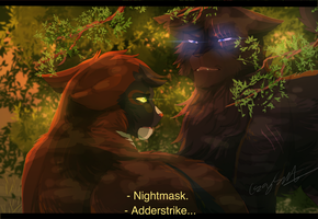 Uneasy Confrontation by CascadingSerenity