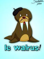 LE WALRUS by SillyPepper