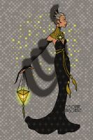 Erte Elegance Dress Up by dolldivine