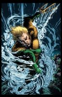 Aquaman by MarkHRoberts