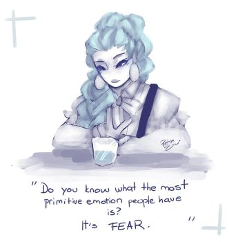 .:DEATH PARADE:. Nona by Drawing-Heart