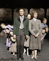 The von Trapp Family by Livadialilacs