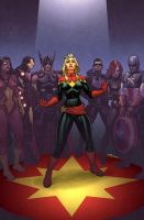 Avengers: The Enemy Within #1 by quin-ones