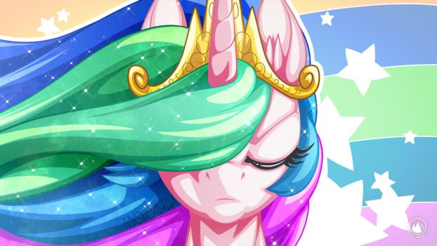The Face of Celestia by mysticalpha