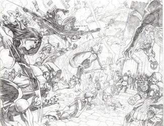 All-New X-Men Sample Page 1 and 2 by Hominids