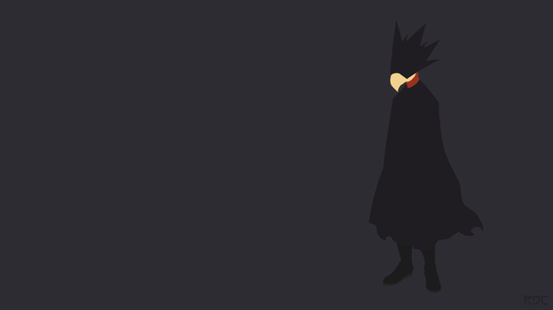 Boku no Hero Academia, Tokoyami Fumikage Wallpaper by Rendracula