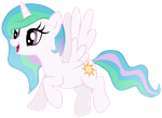 Celestia - Just another average Alicorn by Unfiltered-N