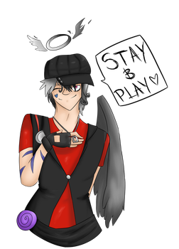 Stay and play by BloodyAngelLexus