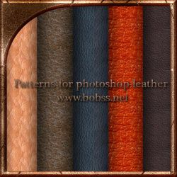 Patterns for photoshop-leather by bobs66