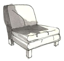 Chair- Grey Tone 2 by bagtop