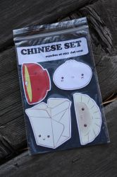 chinese-japanese food set by resubee