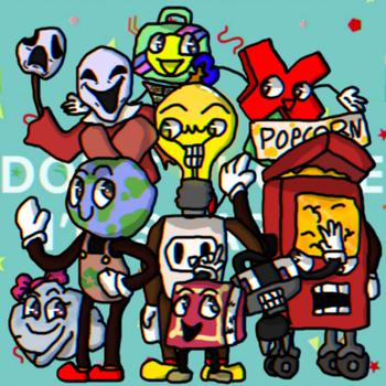 Learning Is Fun - Spinnie and  Friends (DHMIS Ocs) by ZacharyGamer