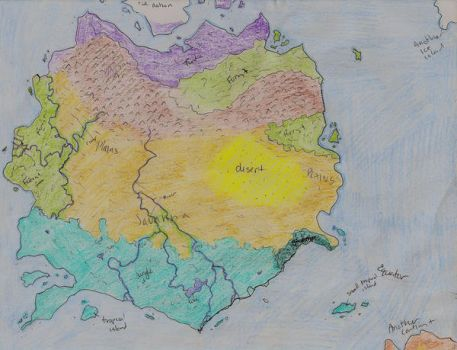 Geographical Map by Tymuthus