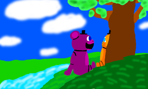 By the river by fnafgarbage
